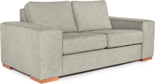 Sofas - Home affaire 2 Sitzer »Odan«, mit schönen Holzfüßen  - Onlineshop OTTO