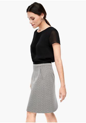 S.OLIVER BLACK LABEL Žakardinis sijonas