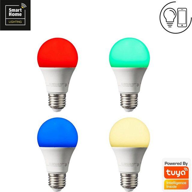 Brilliant Leuchten LED-Leuchtmittel  E27  Farbwechsler  Warmweiß  Tageslichtweiß  Neutralweiß   Lampen > Leuchtmittel > Led   Brilliant Leuchten