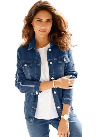 CLASSIC BASICS Куртка джинсовая с silberfarbig schimm...