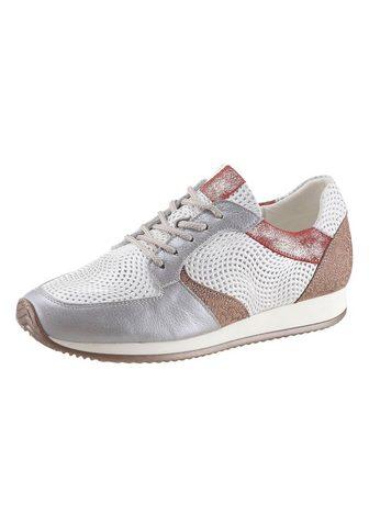 Ботинки со шнуровкой с отстрочкой