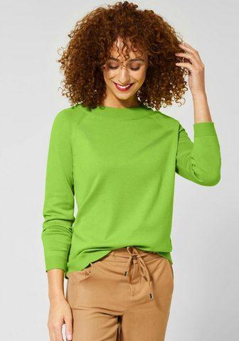 STREET ONE Пуловер с круглым вырезом »Gundi...