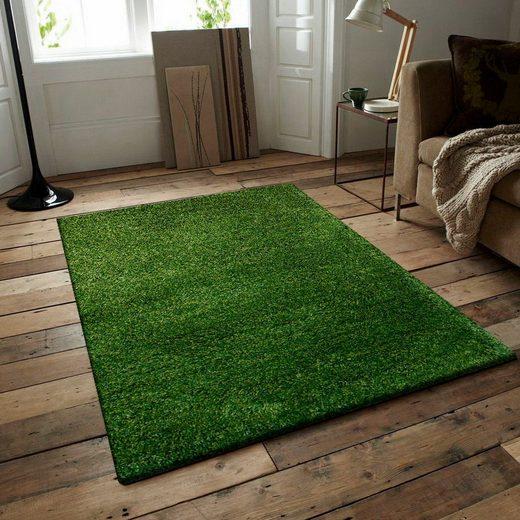Hochflor-Teppich »Manhatten 201«  RESITAL The Voice of Carpet  rechteckig  Höhe 50 mm