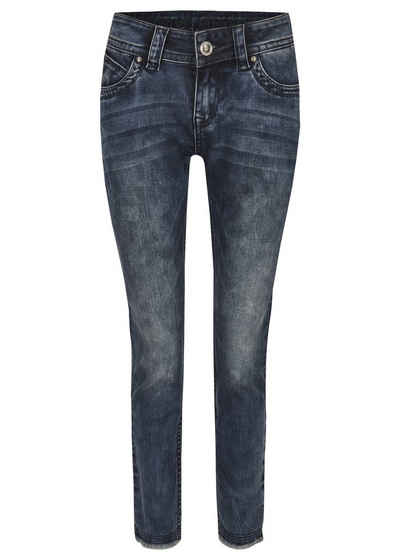 Blue Monkey Skinny-fit-Jeans »Laura« (1-tlg)