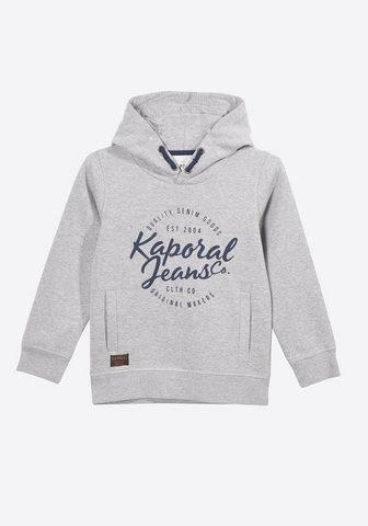Пуловер с капюшоном с Marken-Schriftzu...