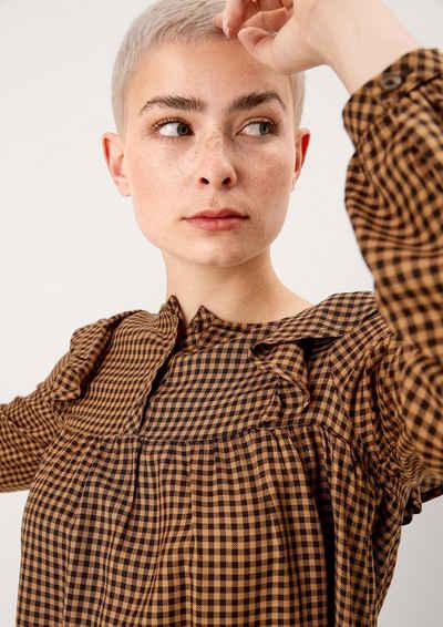 s.Oliver Langarmbluse »Bluse mit Rüschen-Detail« Rüschen