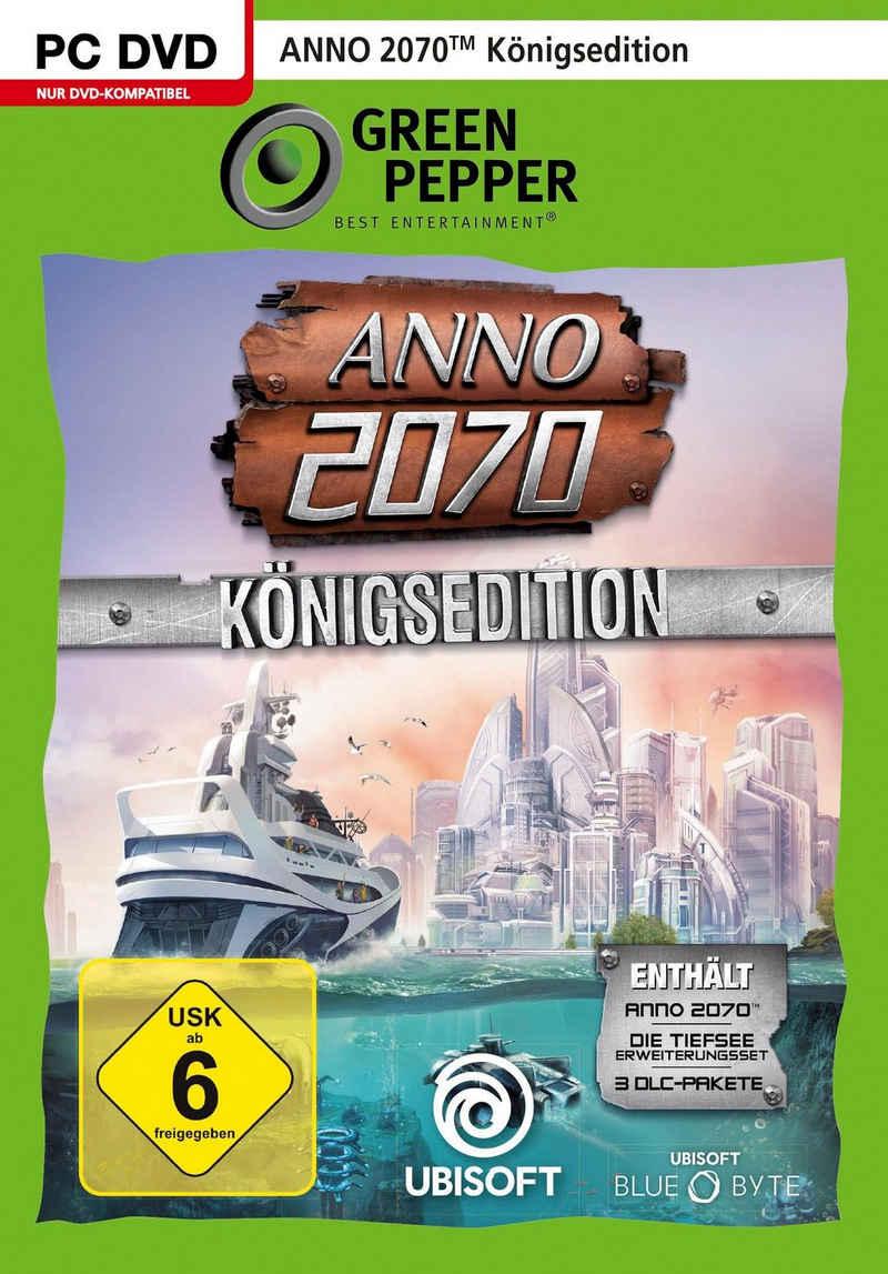 Anno 2070 Königsedition PC, Software Pyramide