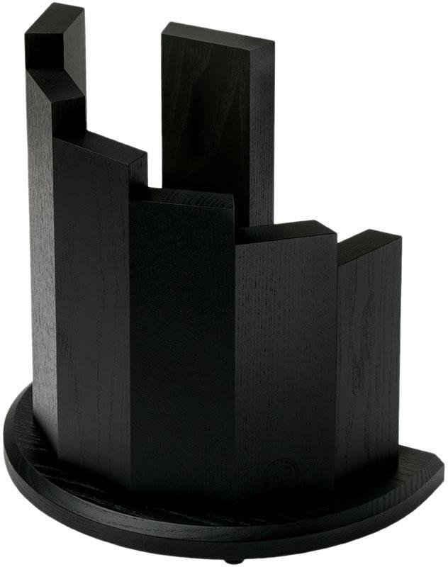 Böker Messerblock, 7 Stelen aus Massivholz mit Magneten