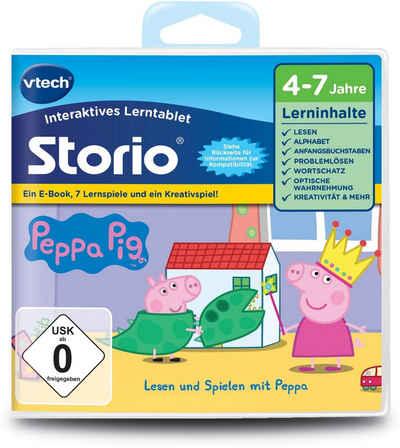 Storio Lernspiel, Peppa Pig vtech