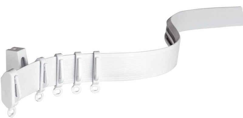 Gardinenschiene »Vorhangschiene Flexline Komplett-Set«, GARDINIA, Fixmaß, kürzbar