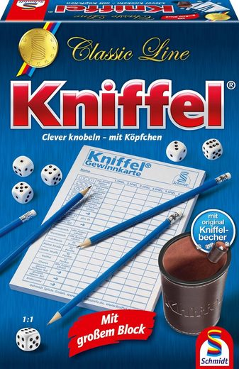 Schmidt Spiele Spiel, »Classic Line, Kniffel®«