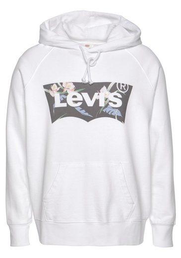 Levi's® Plus Hoodie »Batwing Hoodie« mit Logo in Blumen- Optik