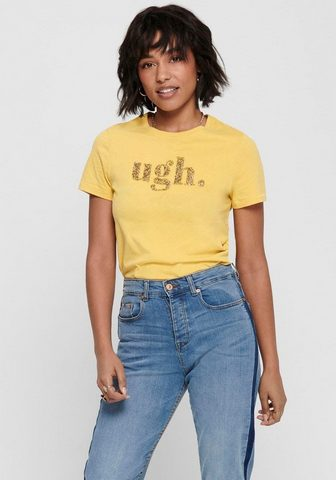 ONLY Блуза с круглым вырезом »ONLGITA...