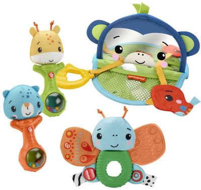 Fisher-Price® Greifspielzeug »Sinne Entdecken Geschenkset« (Set, 4-tlg)