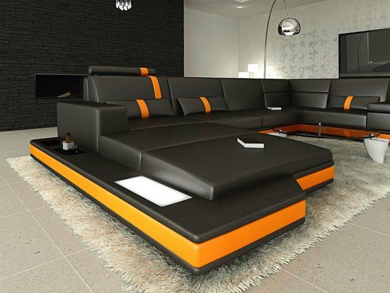 Sofa Dreams Sofa »Messana«, U Form