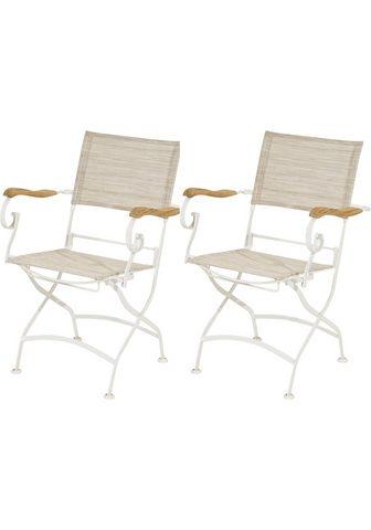 PLOSS Poilsio kėdė »Rom« (2 vnt. rinkinys) s...