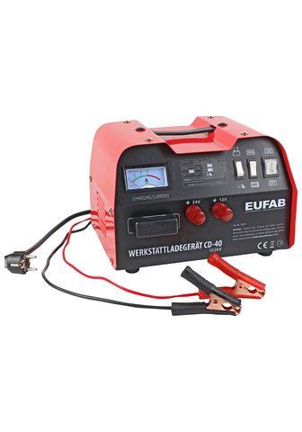 EUFAB Įkroviklis »CD-40R« 12 V/24 V