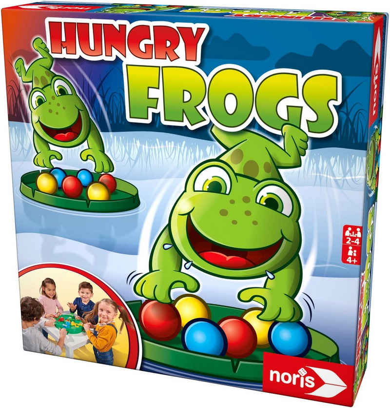 Noris Spiel, »Hungry Frogs«