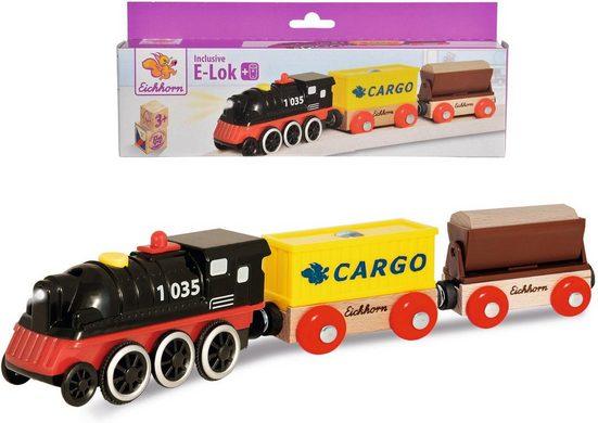 Eichhorn Spielzeug-Zug »E-Lok mit Wagon«, aus Holz