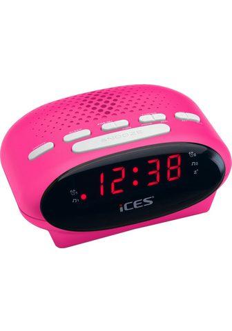LENCO »iCES ICR-210« Radijas su laikrodžiu
