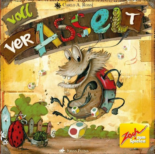 Zoch Spiel, »Voll verasselt«, ; Made in Germany