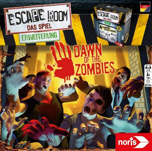 Schipper Spiel, »Erweiterungsspiel, Escape Room: Dawn of the Zombies«