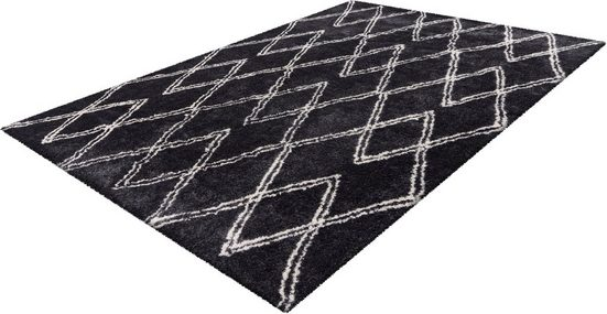 Teppich »Orlando 300«, me gusta, rechteckig, Höhe 27 mm, besonders weich durch Microfaser, Wohnzimmer