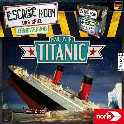 Noris Spiel, »Erweiterungsspiel, Escape Room: Panic on the Titanic«