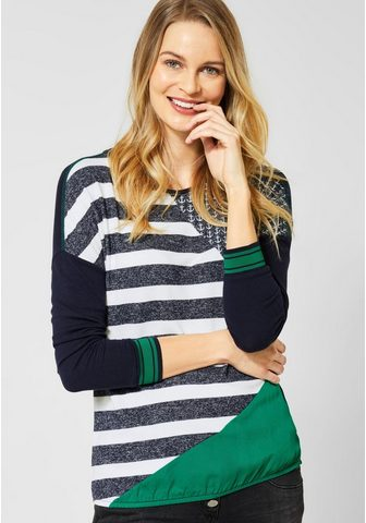 CECIL Блуза с круглым вырезом
