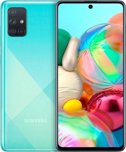 Samsung Galaxy A71 Smartphone (16,95 cm/6,7 Zoll, 128 GB Speicherplatz, 64 MP Kamera)
