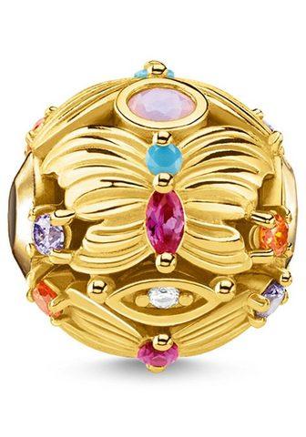 Бусинка »Schmetterling gold K034...