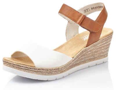 Rieker Sandalette in sommerlicher Optik, Mit tollem Schmuckelement online kaufen | OTTO
