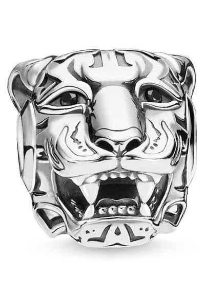 THOMAS SABO Bead »Tiger silber, K0349-643-21«, mit Zirkonia