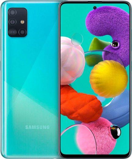 Samsung Galaxy A51 Smartphone (16,4 cm/6,5 Zoll, 128 GB Speicherplatz, 48 MP Kamera)