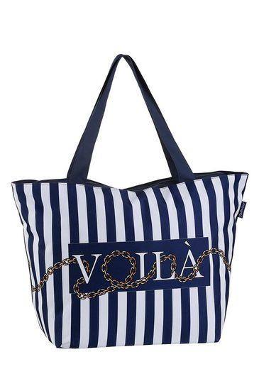 fabrizio® Strandtasche, in maritimer Optik, perfekt für den Badeurlaub
