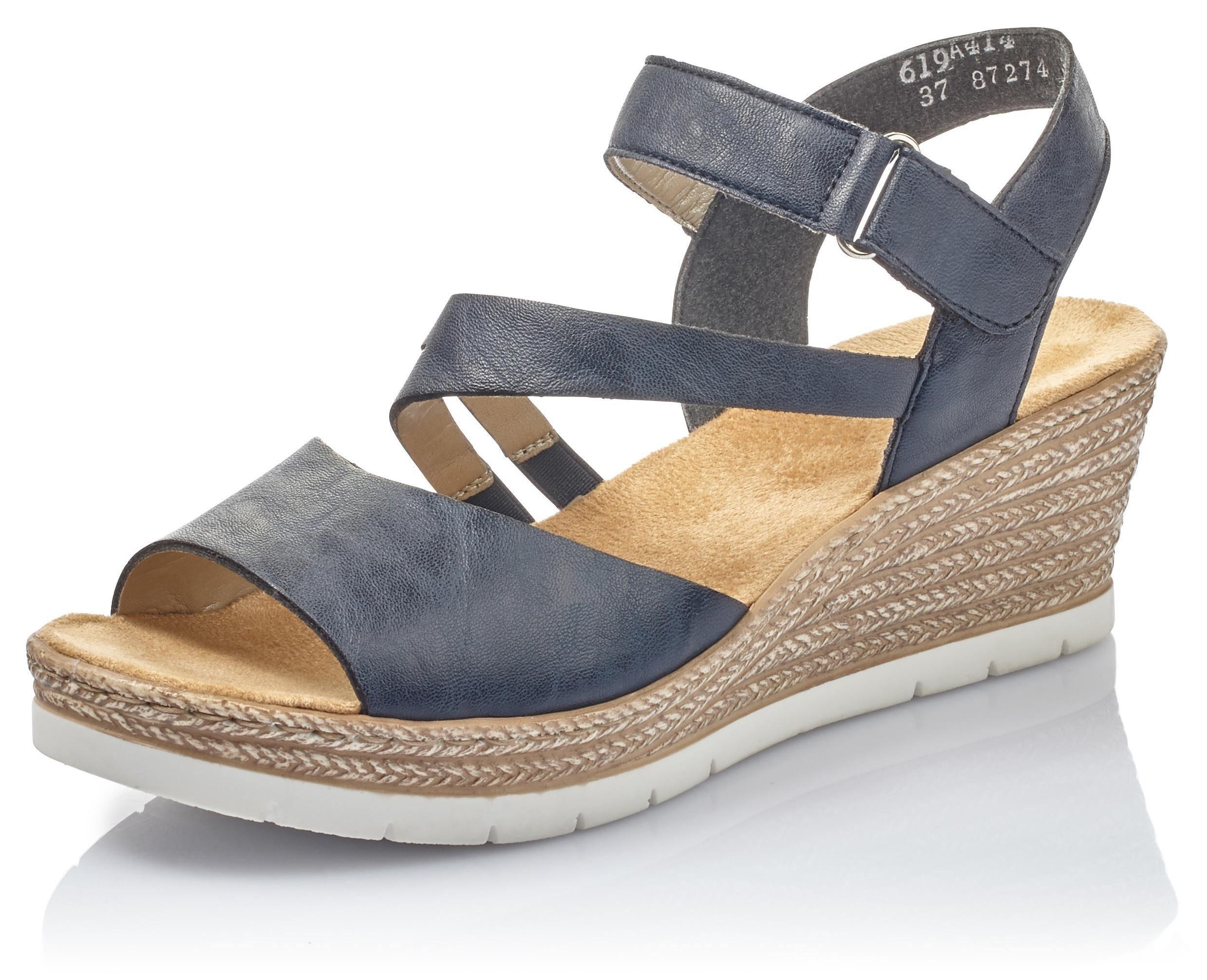 Rieker Sandalette mit Klettverschluss, In sommerlicher Optik online kaufen | OTTO