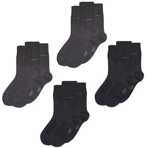 Camano Strümpfe »CA-Soft 8er Pack« (8-Paar) mit verstärktem Fersen- und Zehenbereich