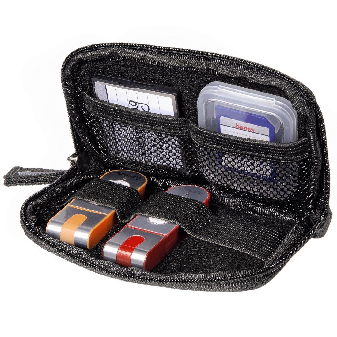Hama Memory Card-/USB-Stick-Tasche Orlando, Schwarz