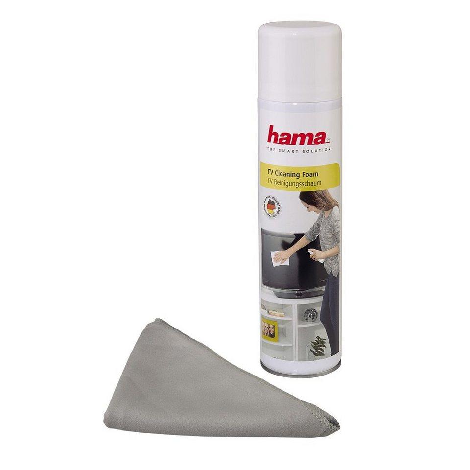 Hama TV-Reinigungsschaum, 400 ml, inklusive Tuch in Coloured