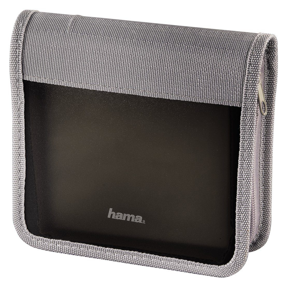Hama CD-/DVD-/Blu-ray-Wallet 28, Graphit/Silber