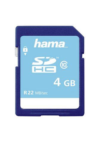 HAMA SDHC Atminties kortelė 4 GB Class 10 »...