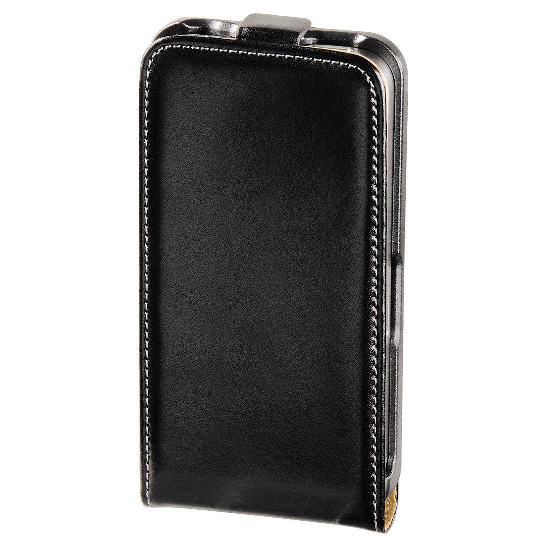 Hama Flap-Tasche Frame für Apple iPhone 4/4S, Schwarz
