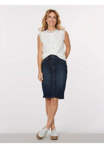 MONA Юбка джинсовая с модный имитация терты...