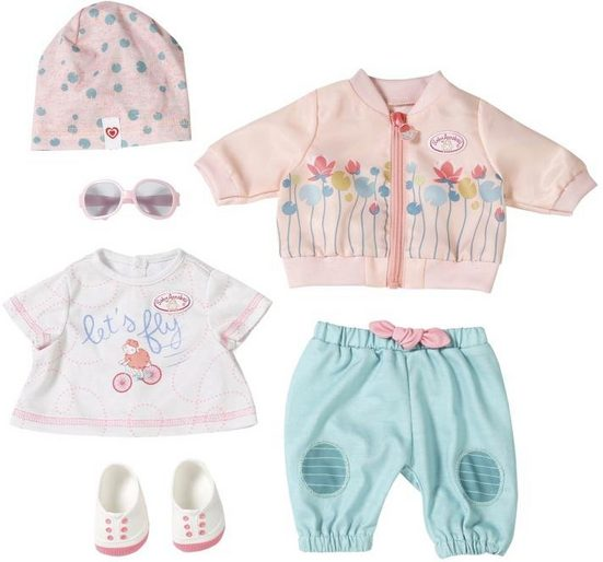Baby Annabell Puppenkleidung »Active Fahrrad Deluxe Set« (Set, 7-tlg)