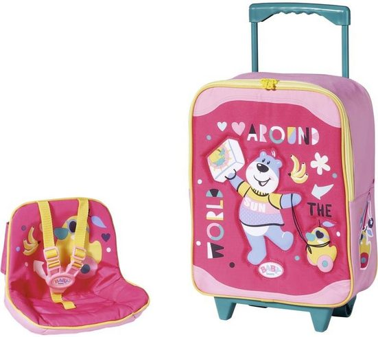 Baby Born Puppen Koffer »Holiday Trolley mit Puppensitz«