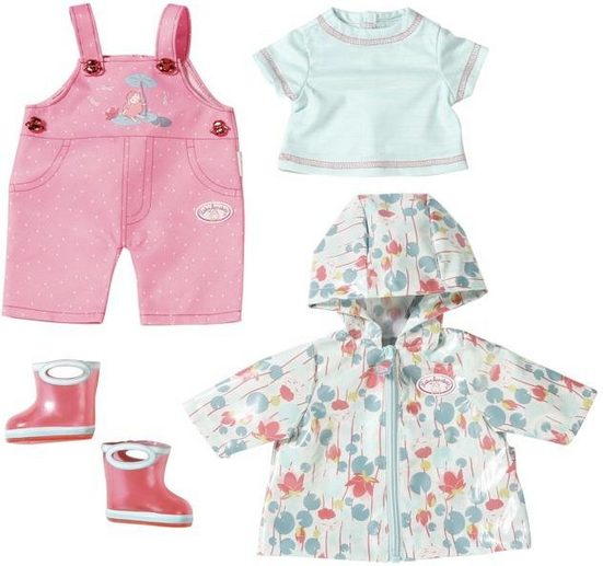 Baby Annabell Puppenkleidung »Deluxe Regen Set« (Set, 5-tlg)