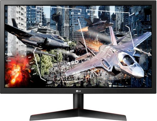LG 24GL600F Gaming-Monitor (1920 x 1080 Pixel, Full HD, 1 ms Reaktionszeit, 144 Hz)