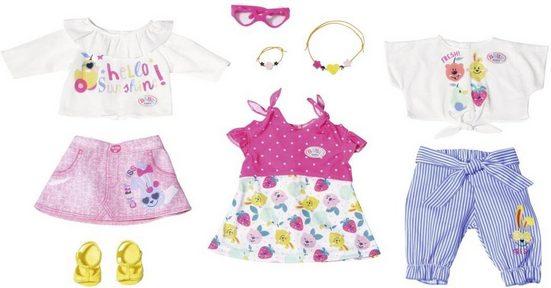 Baby Born Puppenkleidung »Holiday Modeset Frühling« (Set, 9-tlg)