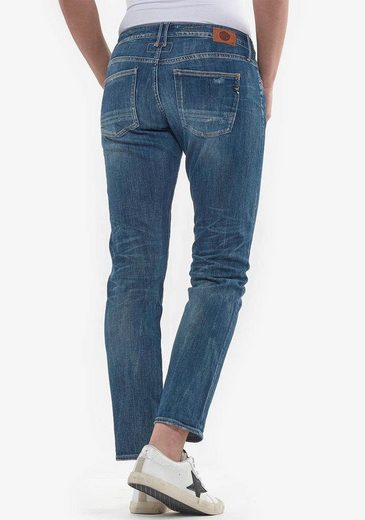 Le Temps Des Cerises Slim-fit-Jeans »SEA« im Used-Look