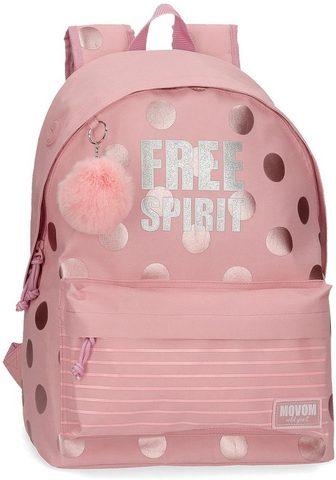 MOVOM Рюкзак »Free Spirit rosa«